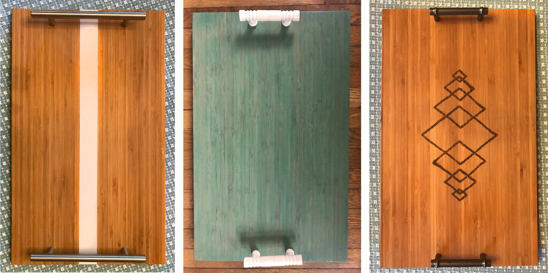 Diy Upcycled Cutting Board Serving Trays