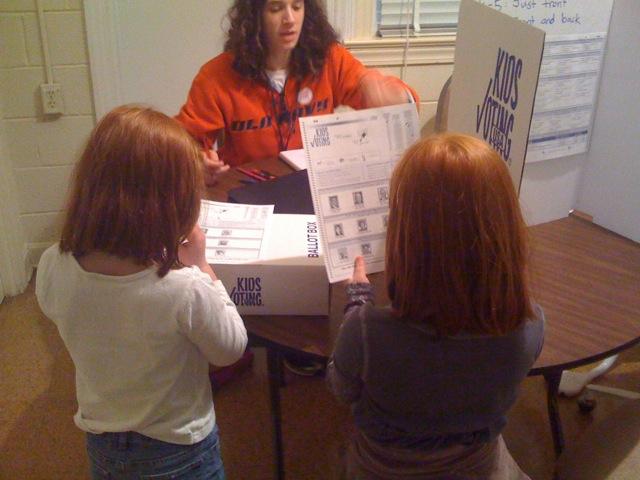 Inspecting the ballot