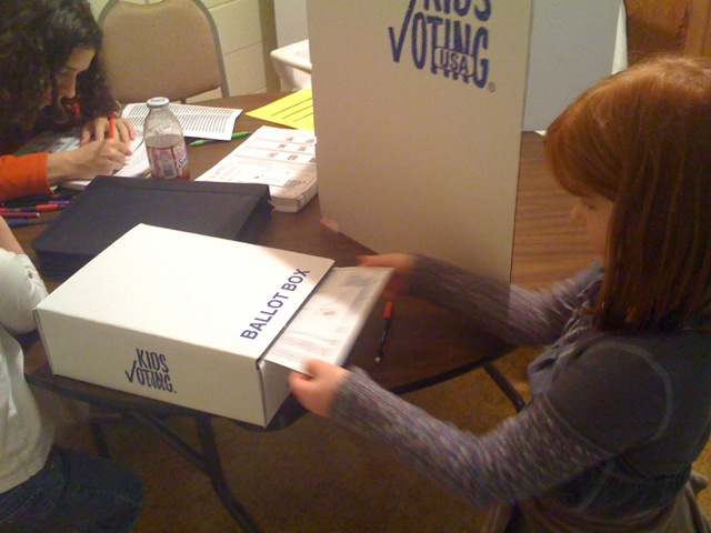 Lucy and the ballot box