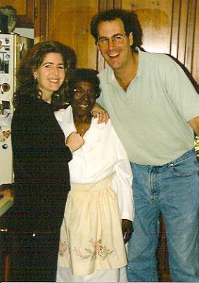 Me, Mattie and my cousin Brian